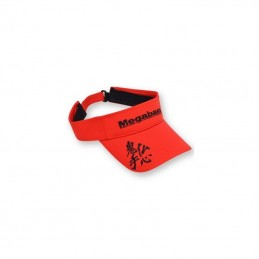 VISIERE MEGABASS RED/BLACK