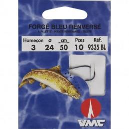 Hamecon Monte Truite Water Queen Forge Bleu Renverse