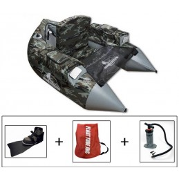 FLOAT TUBE JMC TRIUM CAMOUFLAGE PACK COMPLET