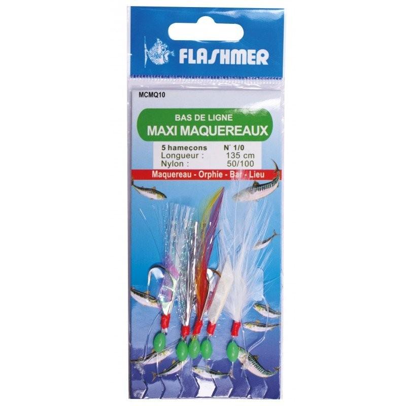 Bas de ligne Flashmer MAXI-MAQUEREAUX