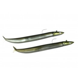 Leurre souple Fiiish Crazy sand Eel DOUBLE COMBO OFF SHORE 12cm / 15g