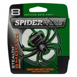 TRESSE SPIDERWIRE STEALTH SMOOTH 8 MOSS - VERT - 150M