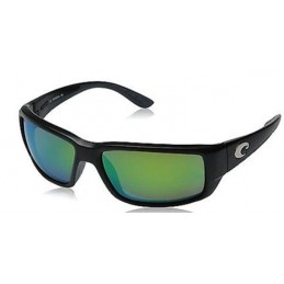 Lunettes polarisantes COSTA Fantail Black Green Mirror 580G