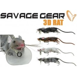 leurre savage gear 3D Rat 20cm 32g