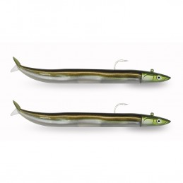 Leurre Fiiish Crazy Sand eel - 150 20g tête off shore + 1 Corp recharge
