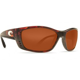 Lunettes polarisantes COSTA Caballito black Copper 580P