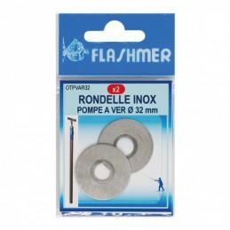 Rondelles inox Pompe A Ver Flashmer