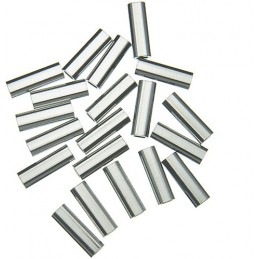 ALUMINIUM SINGLE CRIMP SLEEVE - 40-80 LB - 0.9