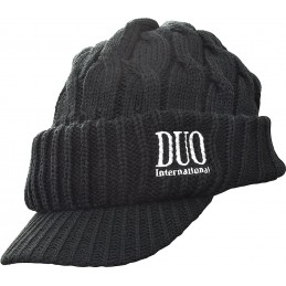 BONNET VISIERE DUO - BLACK